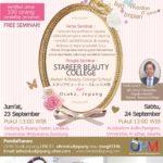 Seminar Sekolah Kecantikan dari Jepang