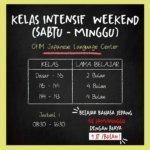Kelas Intensif B.Jepang Weekend & Weekday!